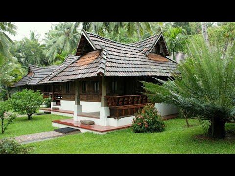 Kerala house gardens - YouTube