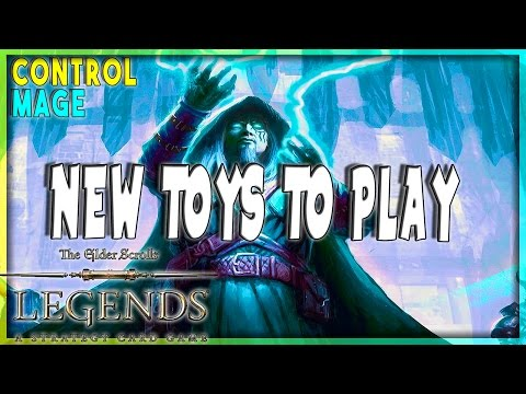 TES LEGENDS 🗡️ THE BLACK DRAGON | CONTROL MAGE DECK | The Elder Scrolls Legend Furo
