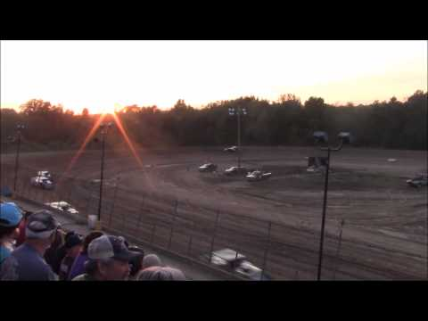 Butler Motor Speedway UMP Modified Heat #1 8/22/15