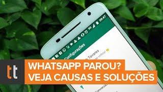 WhatsApp parou de funcionar? Veja possíveis causas e soluções