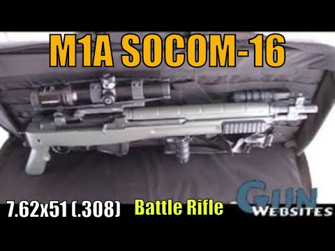 M1A SOCOM-16 7.62x51 (.308) Battle Rifle - YouTube M14 Bullpup