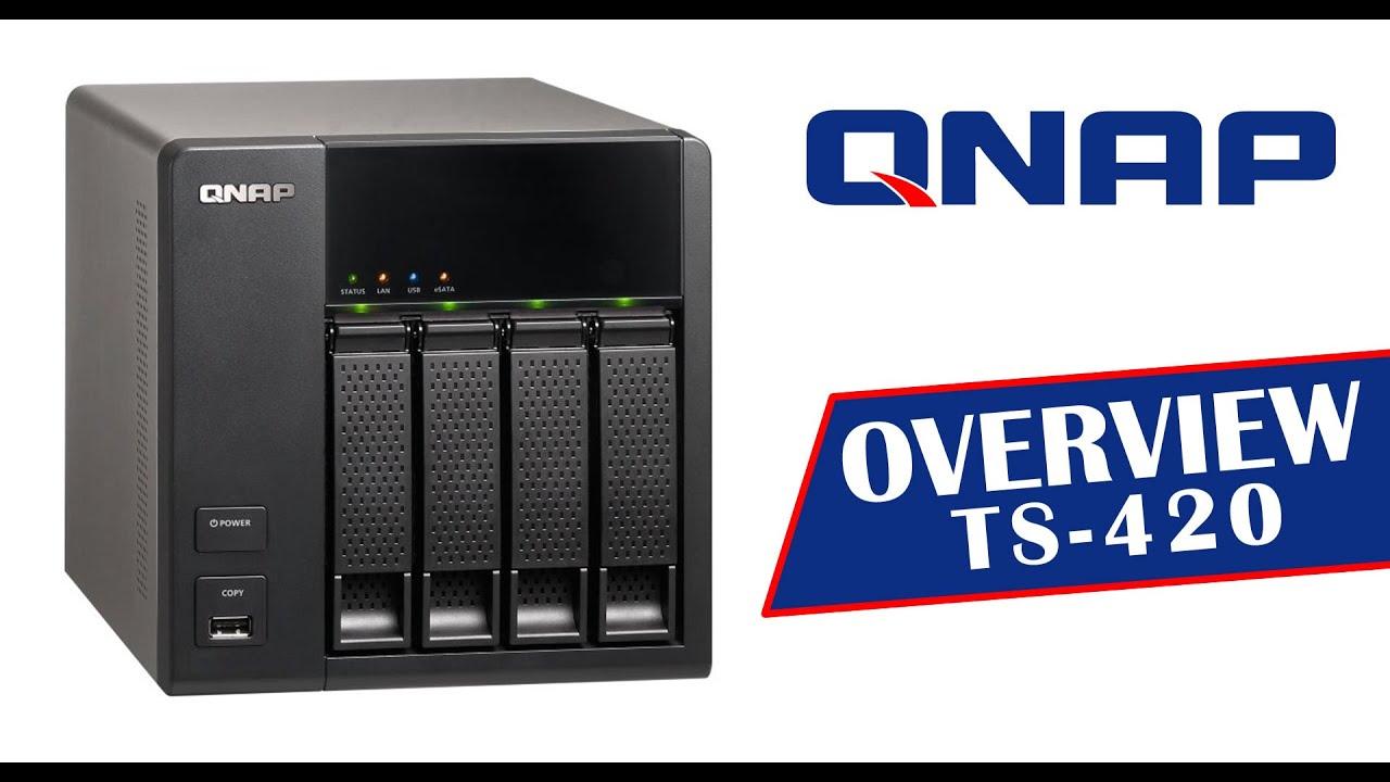 QNAP TS-420 TurboNAS Vista
