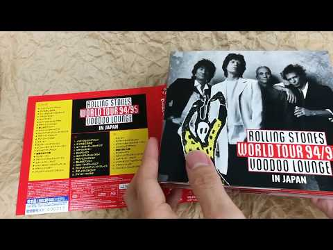 [Unboxing] The Rolling Stones: Voodoo Lounge In Japan 1995 [Blu-ray + 2SHM-CD] Mp3