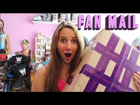 Heaviest Box EVER - Fan Mail Friday | May 25, 2018