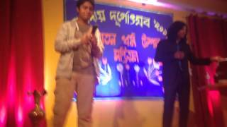 Gaurav singing LIVE with Shamit Tyagi - Galliyan