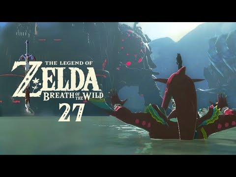 The Legend of Zelda: Breath of the Wild - Part 27 - The Elephant's Roar! Divine Beast Vah Ruta