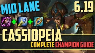 Cassiopeia: How to Hyper-Carry from the Mid Lane - League of Legends Champion Guide