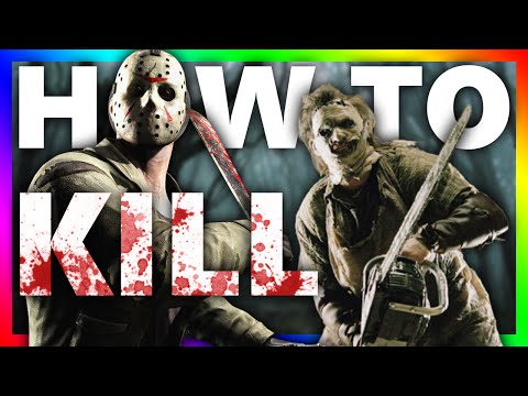 HOW TO BE A SERIAL KILLER?!?!  Dead by Daylight KILL YOUR FRIENDS FOR FUN!