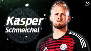 Kasper Schmeichel 2017/18 Amazing Saves - Leicester city