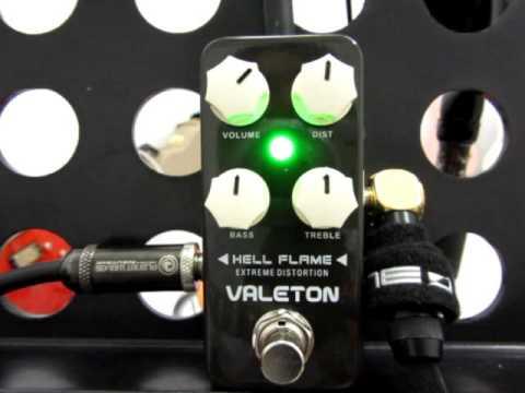 อ โอ๋ รีวิวเอฟเฟคกีตาร์ Hell Flame Distortion Demo  Valeton   Coral Series Pedal