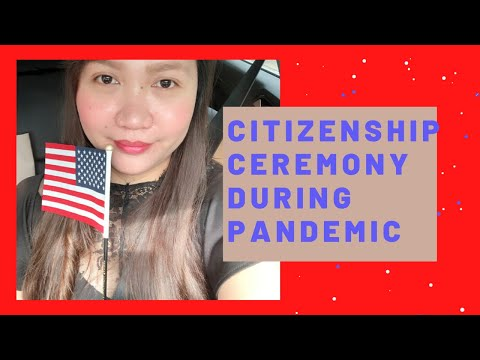 US CITIZENSHIP OATH TAKING CEREMONY DURING PANDEMIC | NATURALIZATION CEREMONY DURING COVID-19