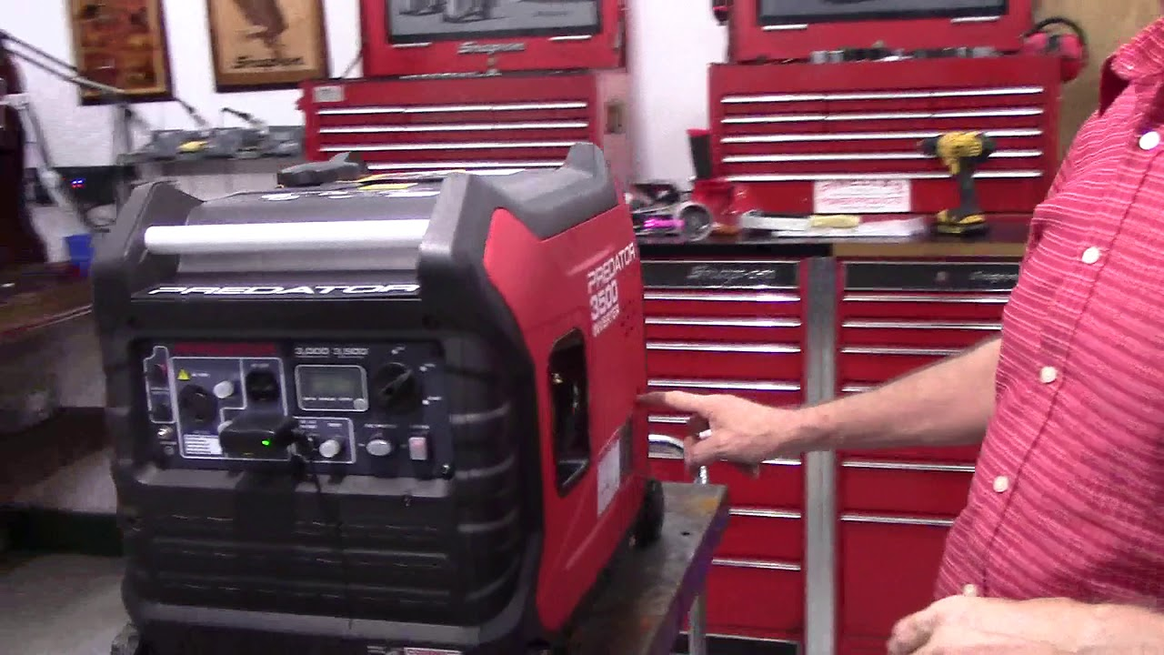 Predator 3500 Wireless Remote Shut Off Kit Demo
