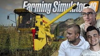 """FS 19 """"od Zera do Farmera"""" #9 ✔ Żniwa Rzepaku, Urwany Gruber & Popsuty Massey ♥ MST"""
