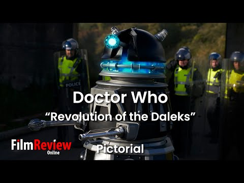 """Doctor Who """"Revolution of the Daleks"""" pictorial with ALL promo photos pre-airing (4K)"""