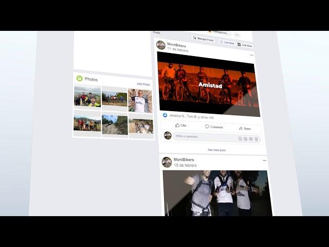 Facebook MontBikers