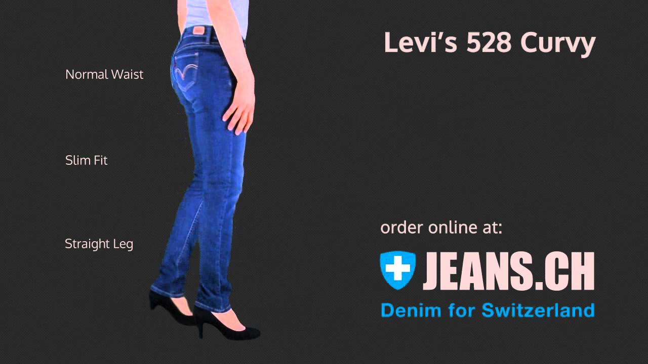 Levis 528 Curvy Skinny Jeans Fit Videos von JEANS.CH - Levis 528 Curvy Skinny Jeans Fit Videos Von JEANS.CH - YouTube