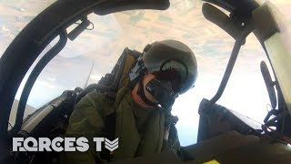 Why Do RAF Typhoons Police Romanian Skies? | Forces TV