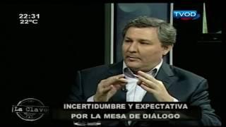 Incertidumbre y expectativa por la mesa de diálogo