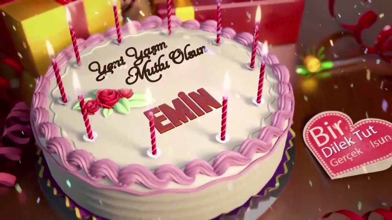 İyi ki doğdun EMİN - İsme Özel Doğum Günü Şarkısı