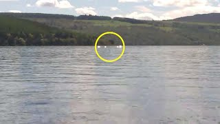 Footage Shows Mysterious Creature In Loch Ness