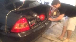 видео Задний бампер на Тойота Королла 2008