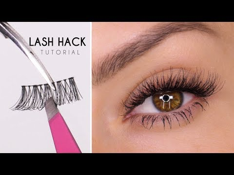 False Eyelash Hack | Easy Way To Apply Lashes | Shonagh Scot