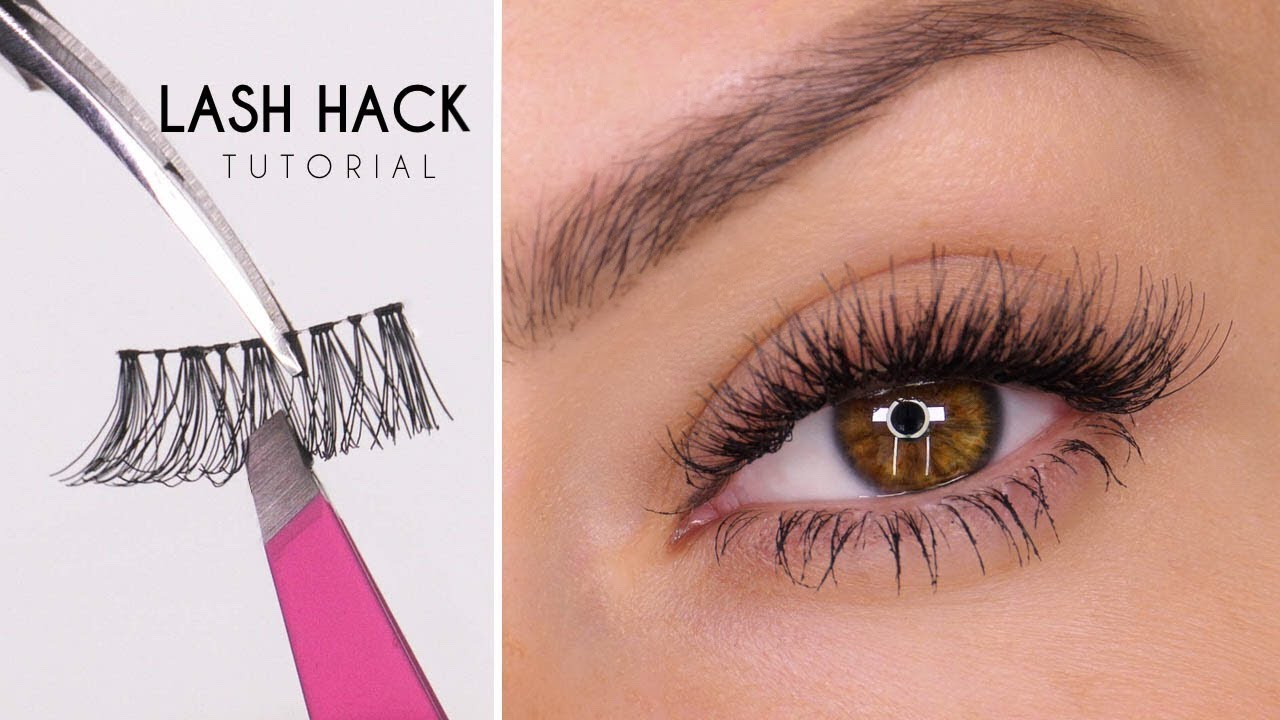 2e10d3529e8 False Eyelash Hack | Easy Way To Apply Lashes | Shonagh Scott | ShowMe  MakeUp
