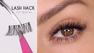 False Eyelash Hack | Easy Way To Apply Lashes | Shonagh Scott | ShowMe MakeUp