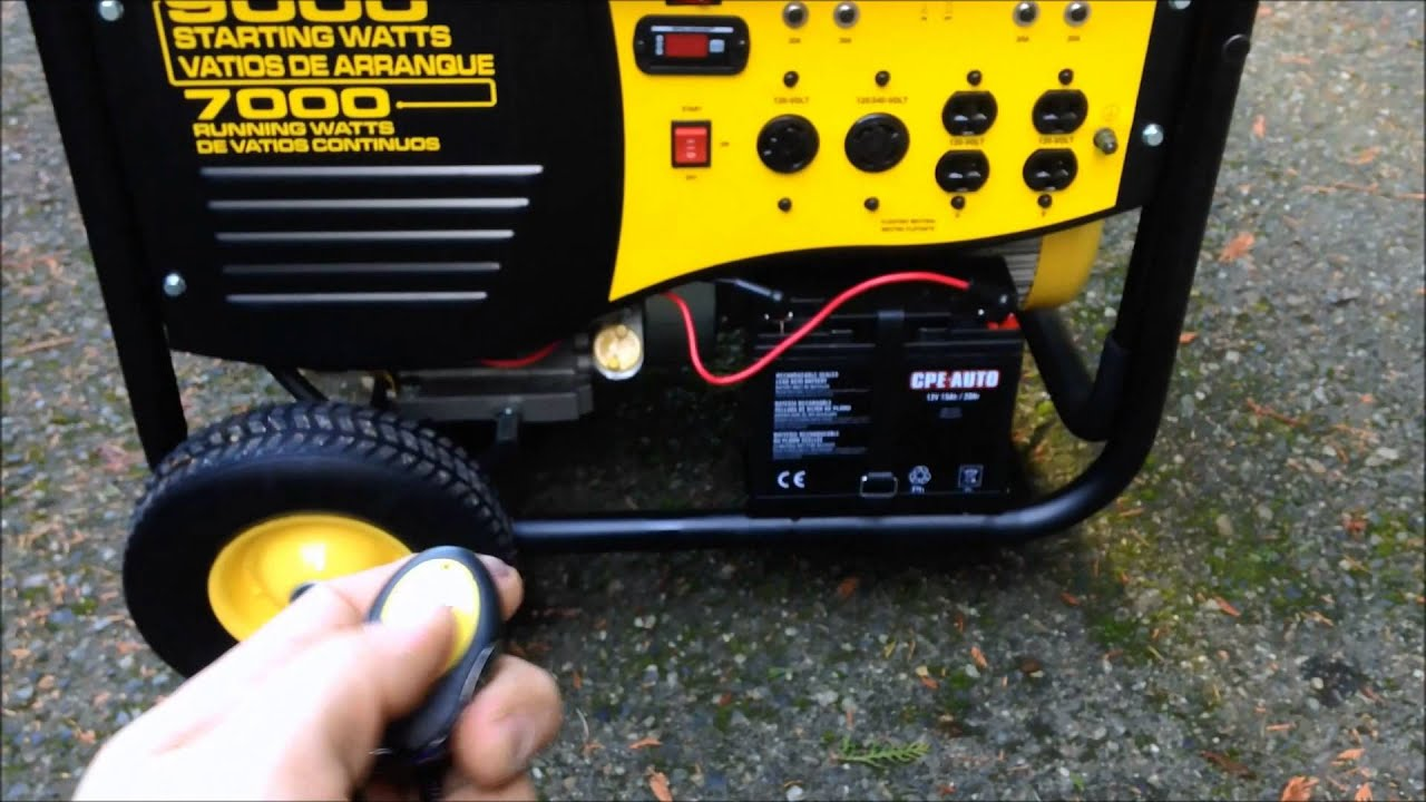 Champion Generator Review and demonstration 7000 watts