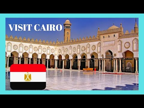 EGYPT: EXPLORING CENTRAL CAIRO, What To See, Top Places To Visit 🕌