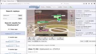 Pokemon Showdown SuMo Turnier 06