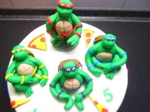 ninja turtles torte fondant geburtstagstorte geburtstag youtube. Black Bedroom Furniture Sets. Home Design Ideas