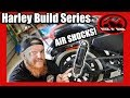 "Road Glide Air Shocks on a Sportster - Harley Iron 883 Sportster ""Build"" Series"