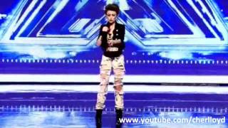 "Cher Lloyd X Factor 2010 First Audition - Soulja Boy / Keri Hilson - ""Turn My Swag On"" HQ/HD"