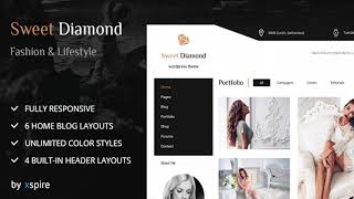 Sweet Diamond - Fashion & Lifestyle Personal Blog | Themeforest Website Templates and Themes