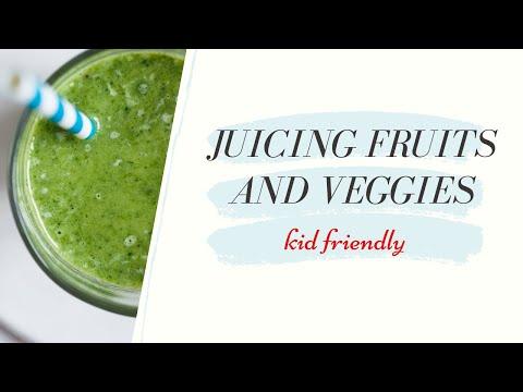 All Natural Juice: Juicing Fruits & Veggies