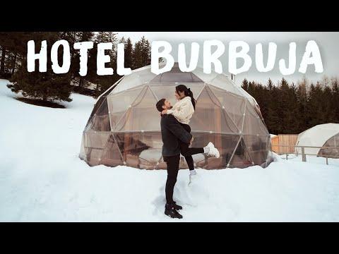ASÍ ES QUEDARTE EN UN HOTEL BURBUJA DE LUJO - SUIZA | Katy Travels