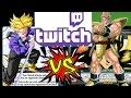 Super Saiyan v Stage Drain Perceptive Trunks v Empowered Nappa Twitch Stream 4