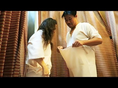 REAL THAI MASSAGE IN THAILAND - Happy Ending?