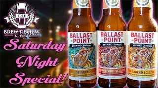 Sculpin IPA Side by Side - SATURDAY NIGHT SPECIAL! | Brew Review Crew Craft Beer Reviews