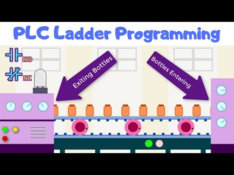 plc-ladder-programming-#2-|-learn-under-5-min-|-no-nc-contacts-|-or-&-not-gate-logic