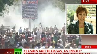 Arab anger swells: Riots in Egypt, Yemen