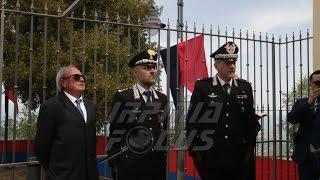 Inaugurazione Caserma CC Montefusco - Cinque, Col Di Pietro, Sindaco Gnerre