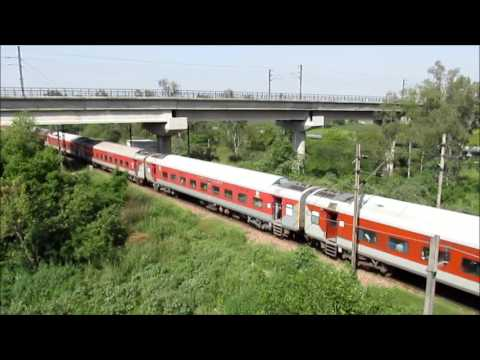 New Delhi - Ghaziabad : Super Busy Stretch of NR : Indian Railways