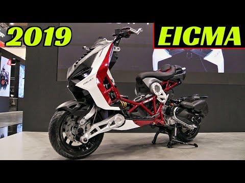 "EICMA 2019 Milano: NEW 2020 Italjet Dragster 125/200cc ""Urban Superbike"" - Walkaround & Details!"