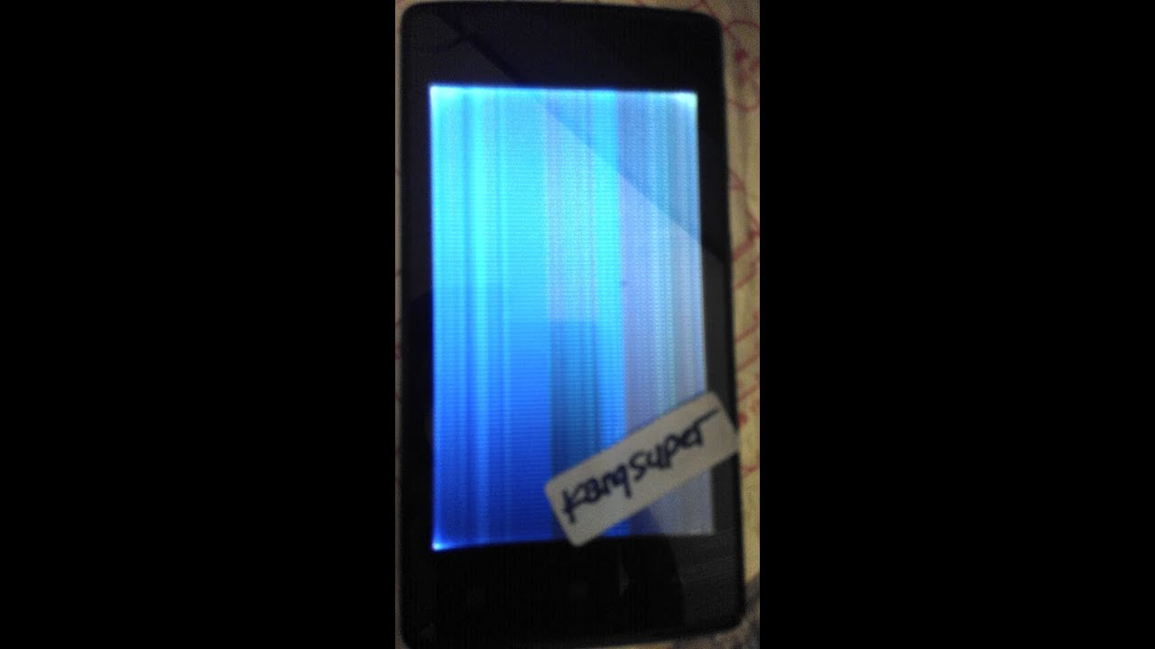 Fix Lenovo A1000 Blank LCD tanpa Box Flash
