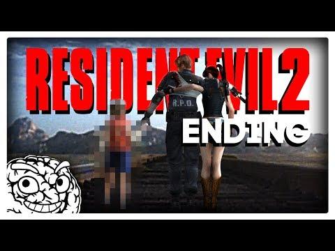 RESIDENT EVIL 2 ENDING – Leon A #05. (Retro Horror vor dem Remake!)