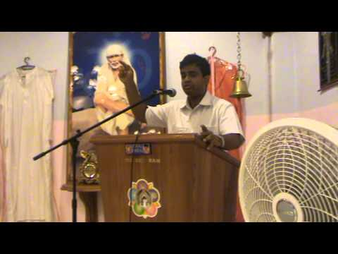 Aravind Balasubramanya - Talks At Rio Claro Sai Center Part 3