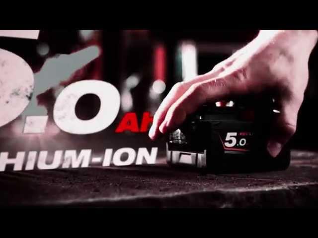 Milwaukee M18™ REDLITHIUM-ION™ 5.0 Ah Battery Pack