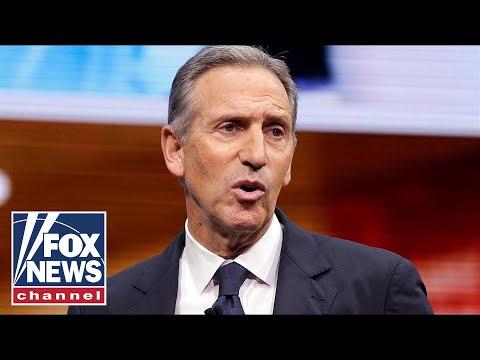 Ex-Starbucks CEO Schultz considering 2020 presidential bid